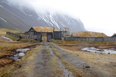 This replica Viking village was created for a film that was never shot and is now open to visitors