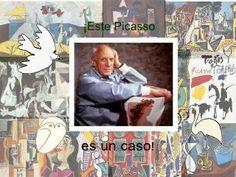 11 Ideas De Proyectos Novedosos Picasso Proyectos Obras De Arte Niños