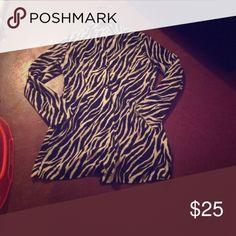 A zebra print trench coat A zebra print trench coat Jackets & Coats Trench Coats