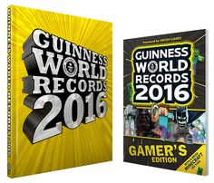 Guinness World Records 2016 The Guinness World Records 2016 Edition is out NOW. The BEST book ever as my kids state  #Guinness http://www.tiarastantrums.com/reviews/guinness-world-records-2016