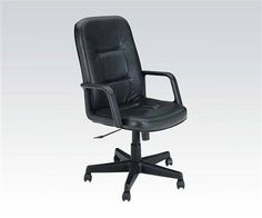 Andrew Black Executive Chair w/Pneumatic Lift