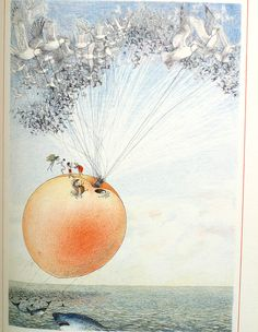 from JAMES AND THE GIANT PEACH