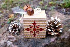Box mit Fenster, Weihnachten, Stampin`UP!, christmas box
