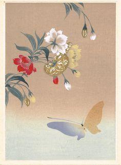 Japanese antique woodblock print Design Pattern by UkiyoeSalon