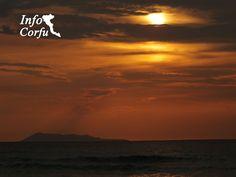 Sunset in Roda-Ηλιοβασίλεμα στην Ρόδα www.Infocorfu.gr
