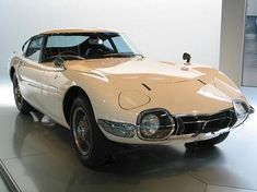The Toyota 2000 GT one of the most beautiful automobiles ever built