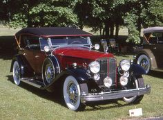 1932 Packard Twin Six Dietrich Sport Phaeton