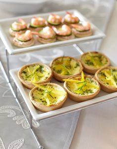 Appetizer Ideas | Lots of food and little space? The 2-Tier Serving Platter from Pier 1 can help