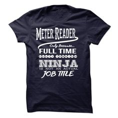 Ninja Meter Reader T-Shirt T Shirt, Hoodie, Sweatshirt