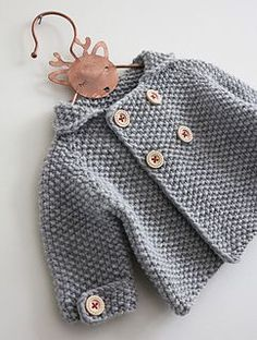 Camille pattern by Julie Partie - baby knitting . - Camille pattern by Julie Partie – baby knitting - Baby Boy Knitting, Baby Cardigan Knitting Pattern, Knitted Baby Cardigan, Baby Pullover, Knitting For Kids, Baby Knitting Patterns, Baby Patterns, Free Knitting, Beginner Knitting