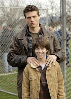 Colin Ford and Brock Kelly-- Little Dean and Sam Winchester