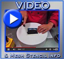 Evil Cake Genius Stencil Video