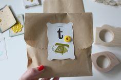 sweet and simple packaging.