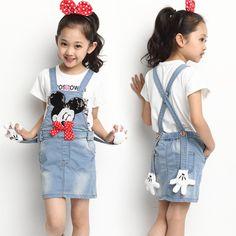 $22.62 (Buy here: https://alitems.com/g/1e8d114494ebda23ff8b16525dc3e8/?i=5&ulp=https%3A%2F%2Fwww.aliexpress.com%2Fitem%2F2016-New-Arrival-brand-style-Cartoon-Mouse-infant-girl-denim-one-piece-dress-kids-sleeveless-catimini%2F32689279953.html ) 2016 New Arrival brand style Cartoon Mouse infant girl denim one-piece dress kids sleeveless catimini children jeans for just $22.62