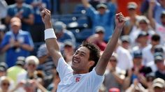 US Open 2014: Kei Nishikori beats Novak Djokovic in four sets to reach final in New York