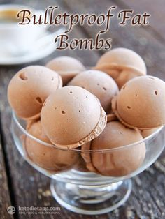 #Keto #LowCarb Bulletproof Fat Bombs