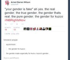 Today's Gender of the day is: Kuzco's gender