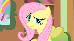 Fluttershy smugs