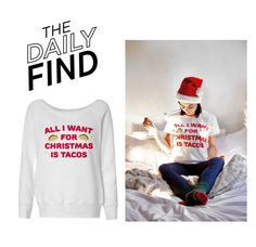 The Daily Find: Tees and Tank You Sweatshirt by polyvore-editorial on Polyvore featuring polyvore, moda, style, fashion, clothing and DailyFind