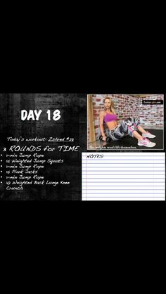 Zuzka #18 Daily Workouts, Body Workouts, Our Body, Lunges, Workout Programs, Challenges, Exercise, Ejercicio