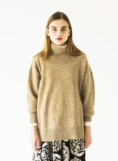 SINDEE 15A/W 「Over Turtle Knit」