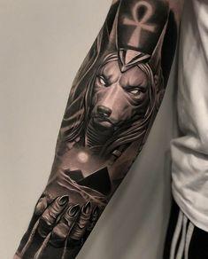 Carismático Login Likes, 22 Comments - ⚜️ ᴛᴀᴛᴛᴏᴏ ᴀʀᴛ. Egyptian Eye Tattoos, Egyptian Tattoo Sleeve, Wolf Tattoo Sleeve, Forearm Sleeve Tattoos, Best Sleeve Tattoos, Tattoo Sleeve Designs, Forearm Tattoo Men, Leg Tattoos, Body Art Tattoos