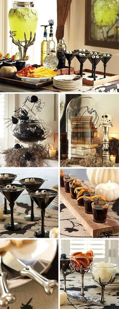 Halloween Party Ideas for Adults - Halloween Cocktail Party Inspiration