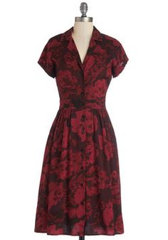 Waltz on a Whim Dress in Flowers, $109.99 #ModCloth