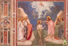 Bautismo de Cristo, Giotto, 1302-05, Capilla Scrovegni