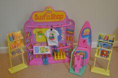 California Dream Barbie Surf 'n Shop Playset, 1987