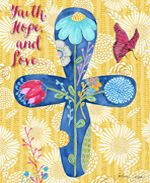 NEW PRINTS in the Multiple Blessings by Caroline Simas Studio Shop! This floral cross is such a beautiful reminder of the powerful scripture found in 1 Corinthians 13:1-13 Amen!