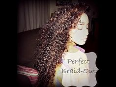Braid out on natural hair - http://community.blackhairinformation.com/video-gallery/braids-and-twists-videos/braid-natural-hair/