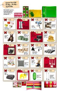 Inspiration til de bedste gaver - IKEA