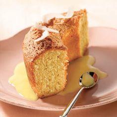 Recette Gâteau de Savoie à la Noix de Coco Tipiak