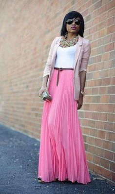Like the colour combo and the skirt is super cute