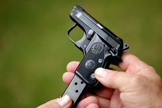 Pocket pistols provide a compact, lightweight approach to concealed carry and what better model to explore than the classic Beretta 950 BS. Hidden Weapons, Weapons Guns, Guns And Ammo, Pistol Annies, Pocket Pistol, Cool Gadgets To Buy, Military Guns, Cool Guns, Nautilus