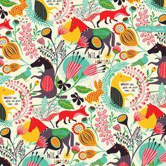 Helen Dardik a fun abstract pattern…
