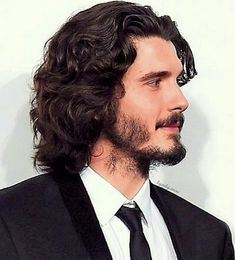 Long Curly Hair Men, Curly Hair Styles, Haircuts For Men, Men Hairstyles, Pose Reference, Eye Candy, Crushes, Hair Cuts, Handsome