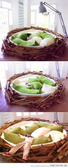 Coolest bed ever!!