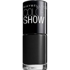 Maybelline Color Show Nail Lacquer, Black