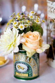 Golden wedding anniversary personalised gift crate bodas de oro golden syrup flowers google search negle Image collections