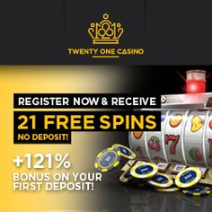 21 FREE Spins On Starburst Slot @ Twenty One Casino (NetEnt) No Usa + Great Welcome Bonus. Poker, Table Games, Live etc. Offer Here: http://welcome.twentyoneaffiliates.com/afs/come.php?id=701&cid=3884&atype=1&ctgid=1001
