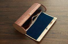 Estuche porta gafas de madera doblada - artesanum com Más