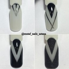 Пошаговый маникюр | Уроки дизайна ногтей Nail Art Hacks, Nail Art Diy, Cool Nail Art, Diy Nails, Simple Nail Art Designs, Best Nail Art Designs, Gel Nail Designs, Elegant Nails, Stylish Nails