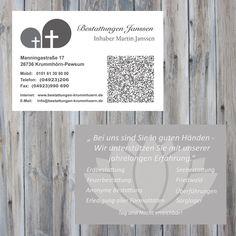 In ein paar Tagen geht die neue Homepage online. Die Visitenkarten sind bereits eingetroffen.  #deich8 #cms #design #emden #joomla #wordpress #drupal #nordic #opensource #seo #webdesign #website #2015 #bestattung #pewsum #visitenkarten #bestattungen
