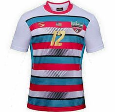 Soccer Uniforms, Sport Wear, Soccer Players, Rugby, Football, How To Wear, T Shirt, Tops, Logo