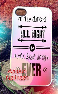 One direction lyrics 2 iPhone 4/4s/5 Case by AmpunNglinggo, $15.00