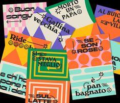Graphic Design on Behance Design Retro, Web Design, Layout Design, Design Art, Print Design, Logo Design, Funky Design, Brochure Design, Cover Design