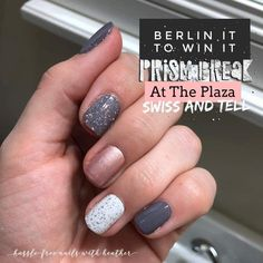 Theres still time to get your hands on those gorgeous Prism Break accent nails! Fancy Nails, Trendy Nails, Pink Nails, Cute Nails, Nail Bling, Nail Color Combos, Fall Nail Colors, Winter Color, Fall Manicure
