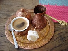 This one comes from our friend, Mia, from her coffee mornings with friends in Sarajevo.